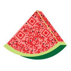 Watermelon QR Code