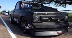 chevrolet s10 truck cornfed 2.0 drag racing