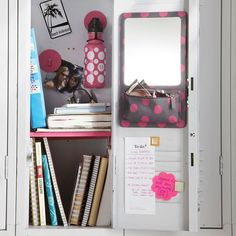 locker organization | Back To School: Locker Organization & Tips!