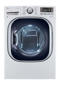 front load allinone electric washerdryer combo in white - Washer Dryer Combo All In One
