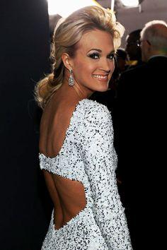 Carrie gorgeous as always