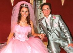 Footballers Wives - Kyle and Chardonnay's wedding, SO TACKY!