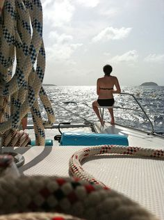 Sailing the British Virgin Islands... LIFE.. doesnt get any better than this