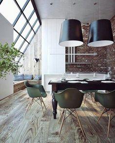 Vitra DAW | http://www.bigbrands.nl/design/eetkamerstoelen/vitra/charles-ray-eames/vitra-daw-eames-plastic-armchair-/vitra-daw-eames-plastic-armchair-gele-esdoorn.html