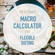 Flexible Dieting Macro Calculator