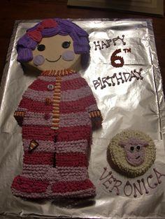 lalaloopsey doll cake....
