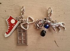 Flying: Doctor Who Clip Charms by jennieingram