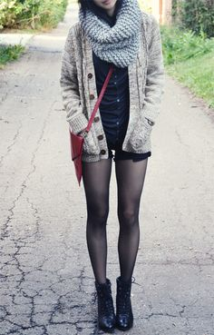 but with a bodycon skirt, maybe, because this chicks legs look really bare and I would get cold like that probs