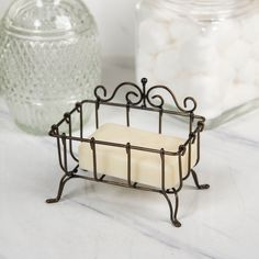 Shabby Chic Farmhouse, Antique Farmhouse, Farmhouse Style, Countertop Organization, Wire Crafts, Metal Finishes, Home Decor Outlet, Design Crafts, Home And Garden