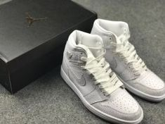 d6718df61f3 Nike Jordan Air Jordan 1 Retro Hi Premium Hc Gg 832596-100 Womens  Basketball Shoes