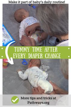 Learn when to start and why your baby needs tummy time to help them develop the neck, back, shoulder, and core needed to meet developmental milestones. Baby Play, Baby Kids, Baby Learning Games, Baby Tummy Time, Baby Life Hacks, Infant Classroom, Baby Information, Baby Schedule, Newborn Baby Care