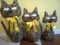 Trio de Gatos - Decorativos