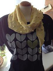Ravelry: Popcorn Scarf pattern by Needlework Unlimited