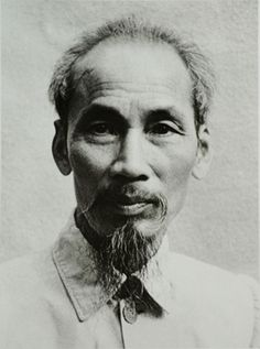 Ho Chi Minh - Former Vietnam President.  Founder of Viet Cong during Vietnam War