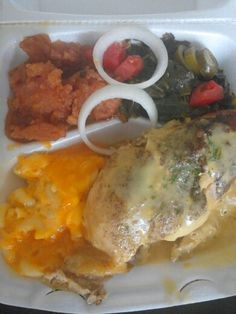 Nothing like some good ole southern soul food!