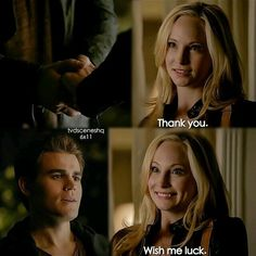 """""""Woke Up With a Monster"""" - Stefan and Caroline. Just kiss already,ohmuhgush. Vampire Diaries Memes, Vampire Diaries Seasons, Vampire Diaries The Originals, Stefan And Caroline, Caroline Forbes, Bonnie Enzo, Kevin Williamson, Popular Book Series, Original Vampire"""