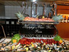Silvester Gala Cruise auf der King Seaways. Mehr Fotos auf http://www.jo-igele.de
