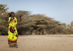 Gabbra tribe woman dancing - Kenya | Flickr - Photo Sharing!