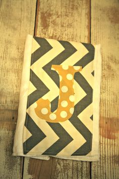 Applique Burp Cloth. @Donna Sewell here's a new one for you to try