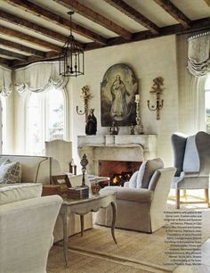 Casa da Anitta: see the singer's mansion in Barra da Tijuca - Home Fashion Trend My Living Room, Home And Living, Living Room Decor, Living Spaces, French Decor, French Country Decorating, Home Altar, Boho Home, French Country Style