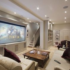 Small Basement Design Ideas, Pictures, Remodel, and Decor