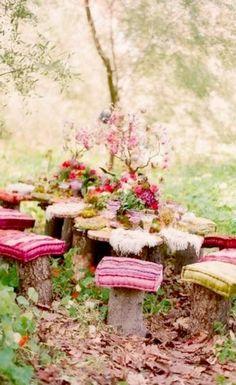 Alice's Tea Party ~ Debbie Orcutt  ❤