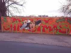 """Merry Christmas"" #streetart"