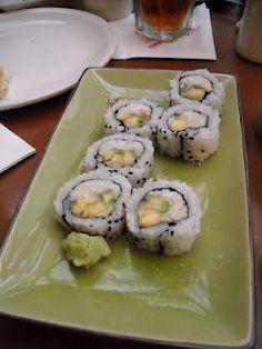 California Luau Roll @ Kona Island Sushi Bar
