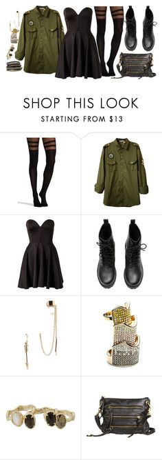 """""""Don't know what I want but I know it's not you. Keep pushing and pulling me down when I know in my heart it's not you."""" by rocketsheep ❤ liked on Polyvore featuring Commando, Club L, H&M, American Eagle Outfitters, Eddie Borgo, Kendra Scott, LK Designs, lyrics and paramore"""