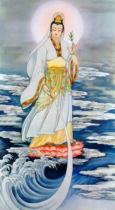 Lotus Painting, Buddha Zen, Guanyin, Buddhist Art, Chinese Art, Indian Art, Buddhism, Religion, Drawings