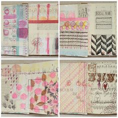smitten with her art journaling!  // me plus molly