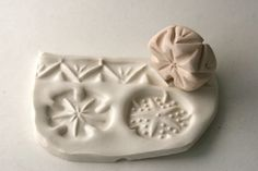 Deep Carved Star Dots Chevron Roller Stamp Border Three in One Pattern Texture Tool for Clay Pottery Ceramics via Etsy