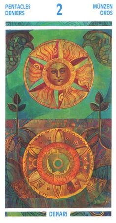 Crystal Tarot ► Two of Pentacles