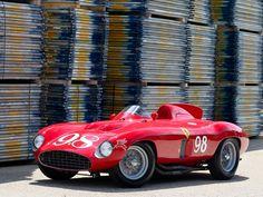 Ferrari 857-Sport Scaglietti Spider 1955-1958
