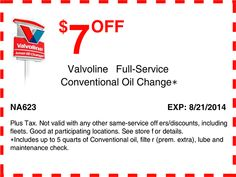 Valvoline Coupon 2017 >> Ntb Oil Change Coupon Code Proflowers Free Shipping Coupon