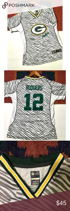 Nike • Green Bay Packers Aaron Rodgers Jersey Nike Green Bay Packers Aaron  Rodgers Jersey 099d99067
