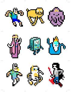 8 Bit Adventure Time