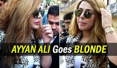 Pakistani supermodel Ayyan Ali in a recent court hearing adorned a new hairstyle where she goes completely blonde. She was seen wearing black and white shrug with black shades and platinum blonde hairs. News of Ayyan as a blonde beauty became the most talked-about fashion statement. She was often seen making such style statements during her court hearings http://www.brecorder.com/arts-a-leisure/261-life-a-style/257402-news-in-pictures;-ayyan-goes-blonde.html