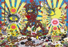 サイケデリック×ボップアート、東京・渋谷で田名網敬一の個展開催 - 新作や大型立体作品も | ニュース - ファッションプレス