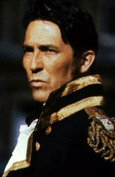 """Ciaran Hinds, the only real Captain Wentworth, in """"Persuasion"""" by Jane Austen."""