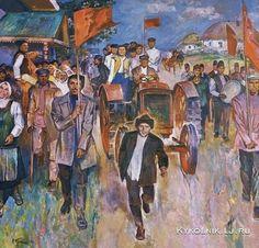 Токарев Вячеслав Васильевич «Первый трактор» 1986-1988