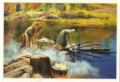 Kaarlo Vuori (1863-1914), Washing on the shore