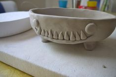 This will show you how to utilise my other two instructables (slab roller and the slump mold) to hand-build a bowl.