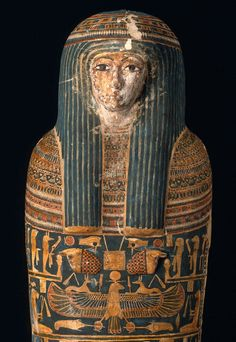 Cartonnage mummy case and mummy of Ankhpefhor. Detail. Third Intermediate Period. 22nd dynasty. 924–818 B.C. | The Museum of Fine Arts, Boston