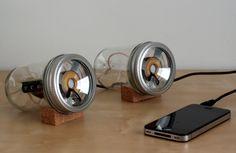 Glass Jar Speakers