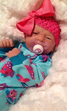 SWEET AS CAN BE!!! BERENGUER REBORN LIFE LIKE BABY GIRL PREEMIE W PACI&BOTTLE+++