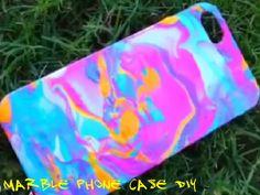 Marble Phone Case DIY