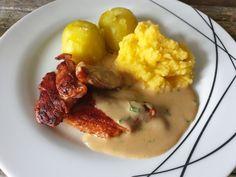 Flesk og duppe - Fra mitt kjøkken Risotto, Mashed Potatoes, Ethnic Recipes, Food, Whipped Potatoes, Smash Potatoes, Essen, Meals, Yemek