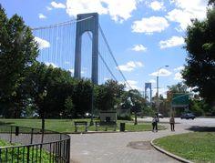 Verrazano-Narrows Bridge Towers, John Paul Jones Park, Bay Ridge, Brooklyn