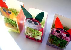 Idea for the kids. Diy For Kids, Crafts For Kids, Arts And Crafts, Kindergarten Crafts, Classroom Projects, Diy Games, Easter Crafts, Easter Ideas, Diy Door